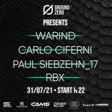 Hard Boiled Saturday 31-07 @Ground Zero Club