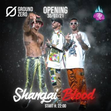 Opening – Shangai Blood LIVE !