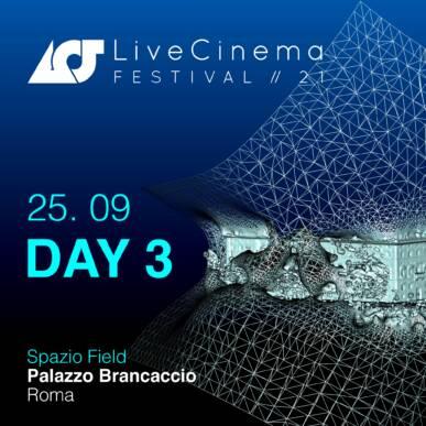 Sabato 25 | Live Cinema Festival 2021
