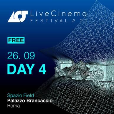 Domenica 26   Live Cinema Festival 2021 – FREE