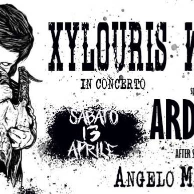 XYLOURIS WHITE in concerto Spec. Guest: ARDECORE