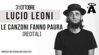 Lucio Leoni @ Angelo Mai
