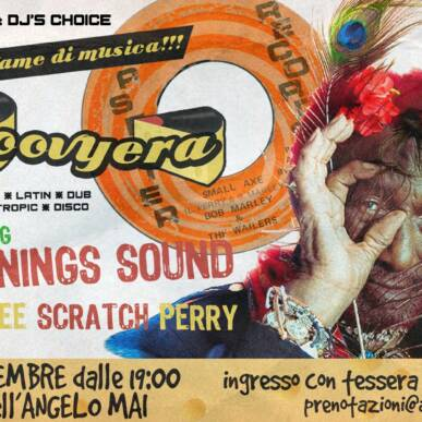 """La Groovyera is BACK feat. Cool Runnings Sound – Tribute to LEE """"SCRATCH"""" PERRY @ Angelo Mai"""
