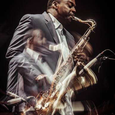 """Brave New World Trio"": David Murray, Brad Jones, Hamid Drake @ Villa Strozzi – Firenze Jazz Festival"