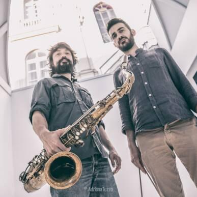 """Logos"": Leonardo Radicchi & Nazareno Caputo @ Villa Strozzi Firenze Jazz Festival"