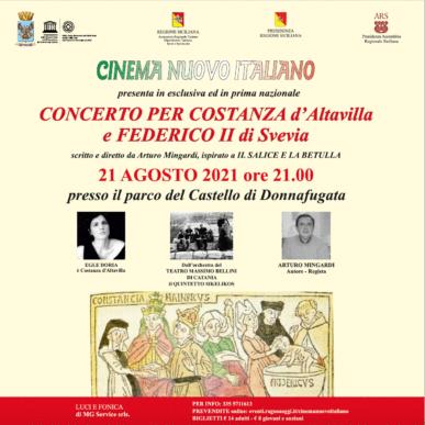 Concerto per Costanza D'Altavilla e Federico II di Svezia