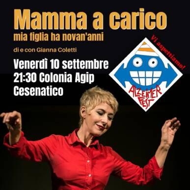 MAMMA A CARICO – @ALZHEIMER FEST – COLONIA AGIP, CESENATICO 10/09/21