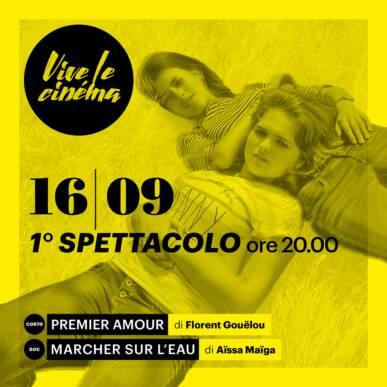 GIOVEDì 16/09 Vive le cinéma! – TERZA SERATA – Primo spettacolo
