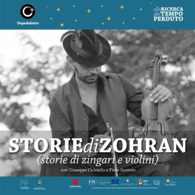 Zohran – Storie di violini e di Zingari ore 21:00