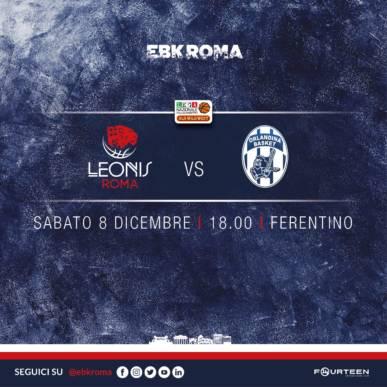 CAMPIONATO ITALIANO LNP SERIE A2 OLD WILD WEST LEONIS ROMA vs ORLANDINA BASKET